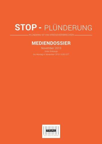 STOP- PLÜNDERUNG - TRIAL