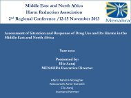 Assessment of Situation and Response of Drug Use and Its Harms ...