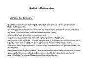 Qualitative Medienanalyse - Fehler/Fehler