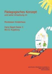 Konzept klein 01:2013 - Montessori in Augsburg