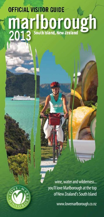 Download the visitor's guide - Marlborough