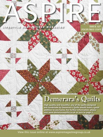Demerara's Quilts - Aspire Magazine