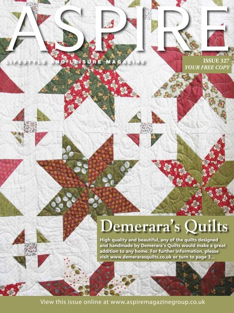 Demerara's Quilts - Aspire Magazine