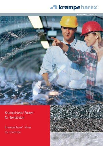 KrampeHarex®-Fasern für Spritzbeton KrampeHarex® fibres for ...