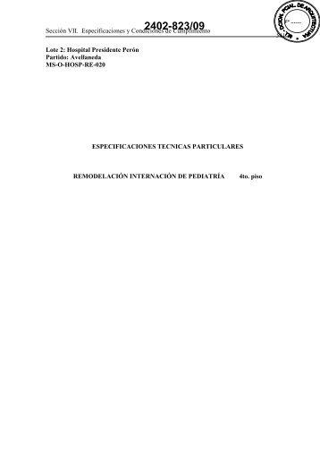 2402-823/09 - Ministerio de Economía de la Provincia de Buenos ...