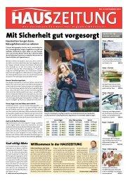 Mit Sicherheit gut vorgesorgt - Berliner HausZeitung