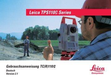 Gebrauchsanweisung TC(R)110 - Leica Geosystems