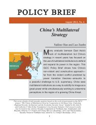 China's Multilateral Strategy - Institute on Global Conflict and ...