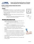 Center for Professional Practice of Nursing CPR Guidelines for ... - Page 6