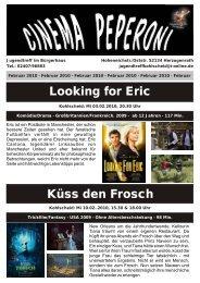 Looking for Eric Küss den Frosch - Jugendtreff im Bürgerhaus ...