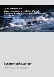 pdf-Datei - Deutsche Hydrologische Gesellschaft eV