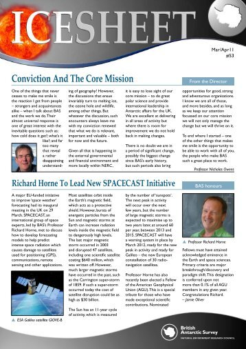 Conviction And The Core Mission - spacecast