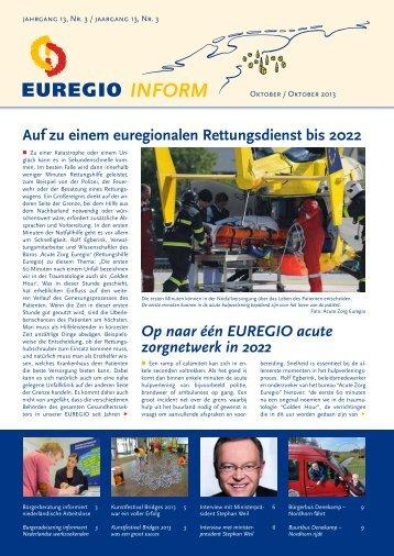 EUREGIOInform oktober 2013