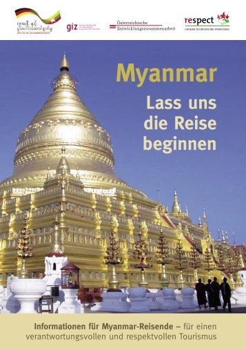 Myanmar - Naturfreunde Internationale