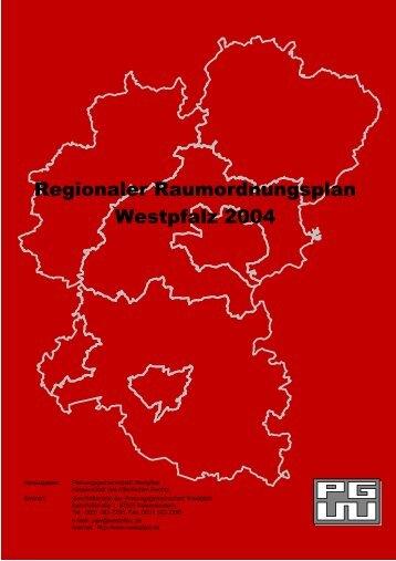 RROP Westpfalz 2004 Textteil - Orts-, Regional- und Landesplanung