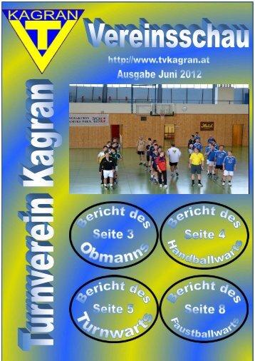 Terminvorschau - Wiener Vereinsmeisterschaft 2012 ... - TV Kagran