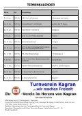 Terminvorschau - Wiener Vereinsmeisterschaft 2012 ... - TV Kagran - Page 2