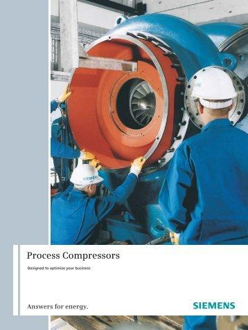 Process Compressors - Siemens