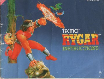 Manual Rygar - Manuales de videojuegos