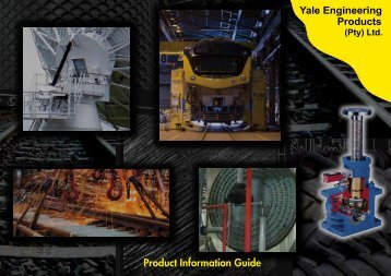 Product Information Guide - Yale Engineering Products (Pty) Ltd