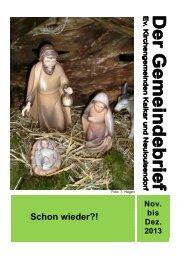 Schon wieder?! - Evangelische Kirche Kalkar