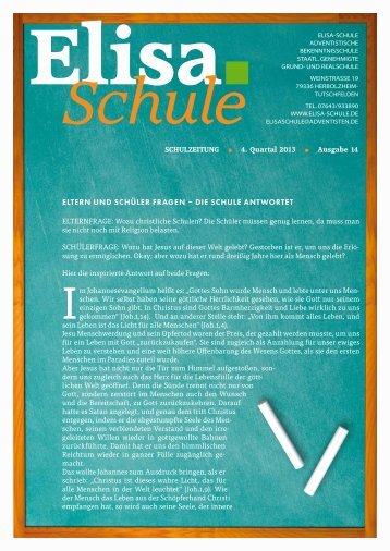 Online lesen: PDF Download - Elisa-Schule Herbolzheim