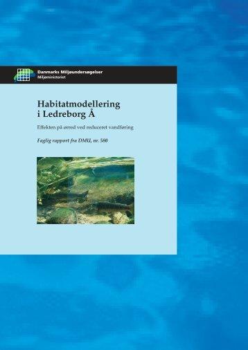 Habitatmodellering i Ledreborg Å
