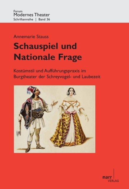 Schauspiel und Nationale Frage. Kostümstil und ... - narr-shop.de