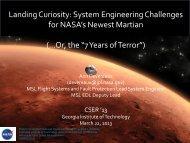 Presentation Slides - CSER 2013 - Georgia Institute of Technology