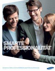 B2B Produktkatalog Mobile - Samsung Business Life