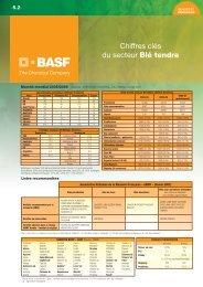 les chiffres clés du secteur du blé tendre - BASF Agro