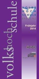 Frühjahr 2014 - Volkshochschule Bregenz