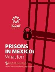 PRISONS IN MEXICO: - México Evalúa