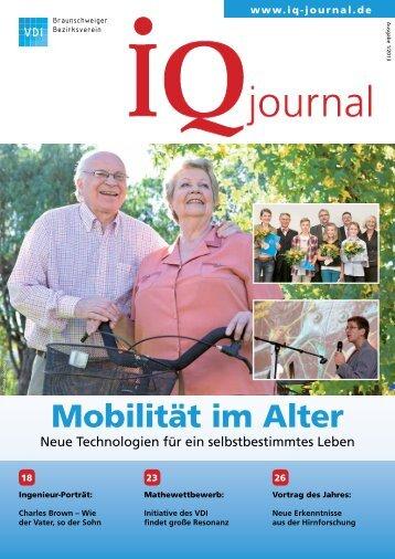 Mobilität im Alter - VDI Braunschweiger Bezirksverein eV