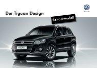 VW Tiguan – Design Preis CHF 37'850.00 Download PDF