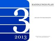 handlungs:plan-Magazin Ausgabe 3-2013 - PDF-Version