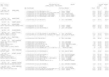 Delinquent Real Estate Tax List - Iowa State County Treasurers ...