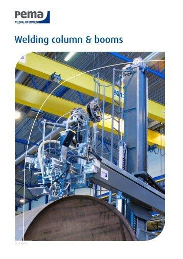 Welding column & booms - Sveiseeksperten