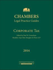 Law & Practice Corporate Tax Germany - P+P Pöllath + Partners