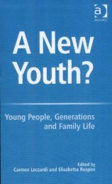 A New Youth?: Young People, Generations And ... - Youth Nation