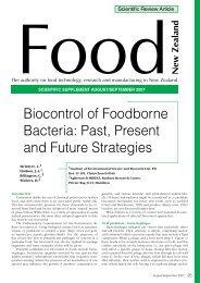 Biocontrol of foodborne Bacteria: Past, Present and future strategies