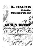 Ostern 2013 - Christuskirche Hof - Seite 2