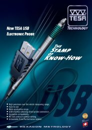 New TESA USB Electronic Probe