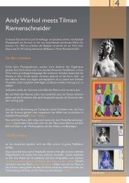 Andy Warhol meets Tilman Riemenschneider - Adobe Partner ...