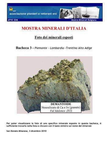 Bacheca 3 - associazione pionieri e veterani eni