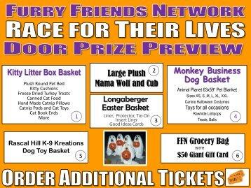 see rftl door prize final list - Furry Friends Network