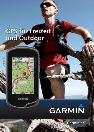 Garmin Outdoorkatalog - Seekarten + Flightshop Bernwieser