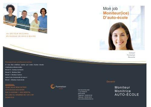 Mon job Moniteur(ice) D'auto-école - L'auto-école