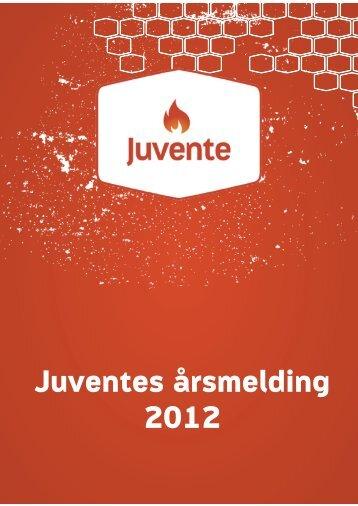 Sak 3.1 Årsmelding for Juvente 2012