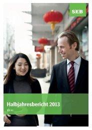 Halbjahresbericht 2013 (PDF, 815 KB) - SEB